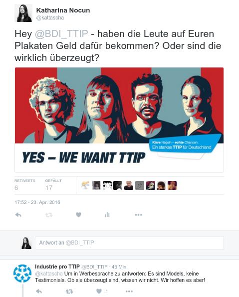 Models für TTIP