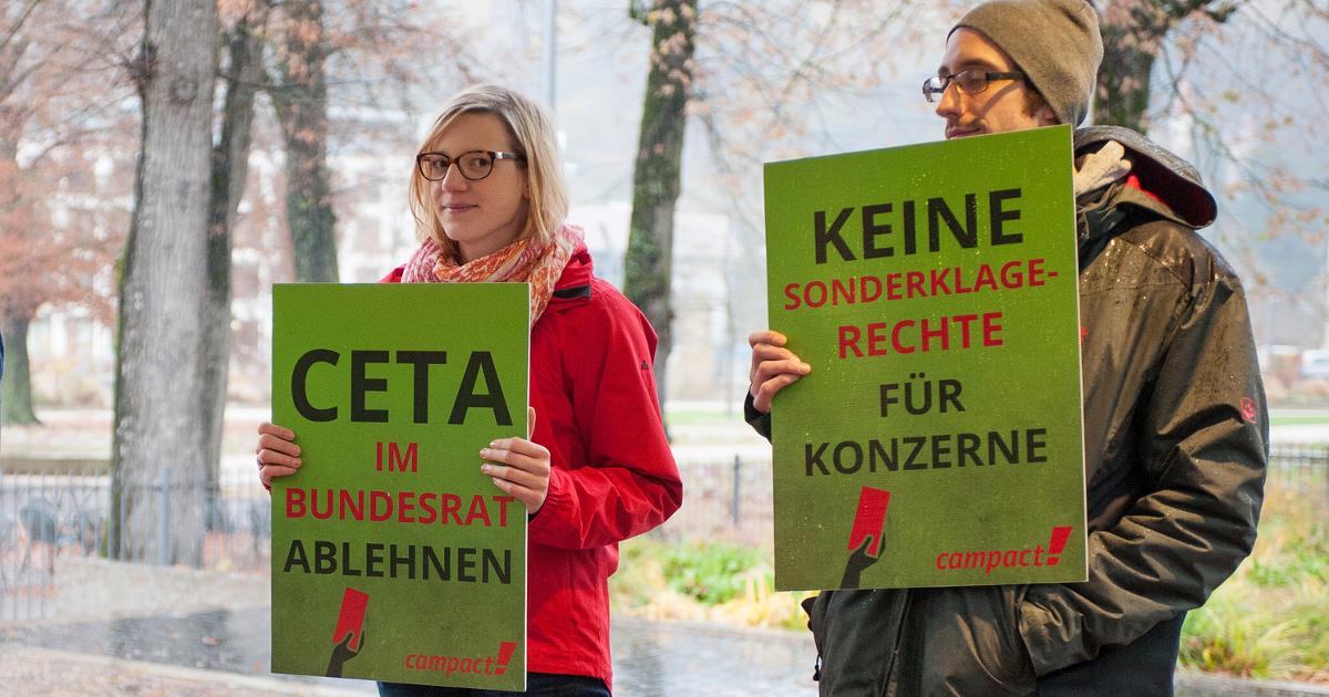 TTIP & CETA & Jamaika