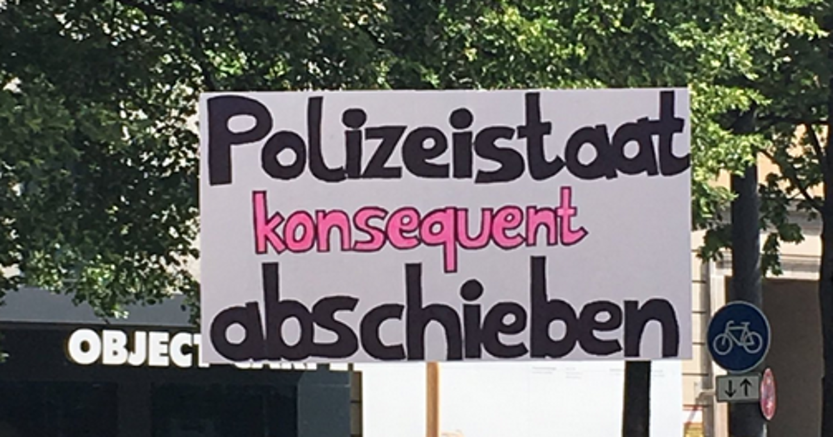 Polizeigesetz Bayern